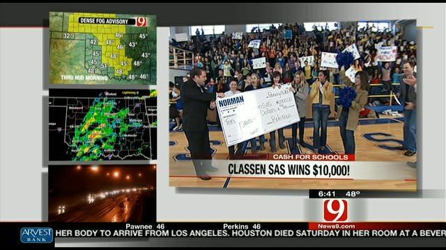 Classen SAS Wins $10K!