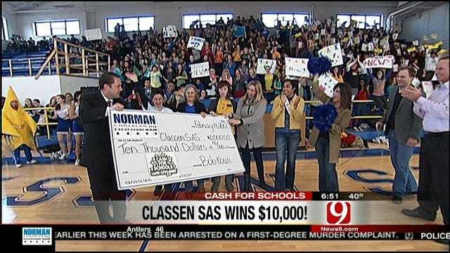 Classen SAS Celebrates Winning $10K