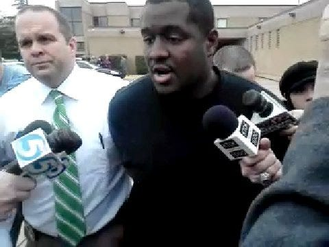 WEB EXTRA: Fabion Brown Tells News 9 He's Innocent