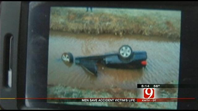 Guardian Angels Save Man Trapped In Car From Drowning