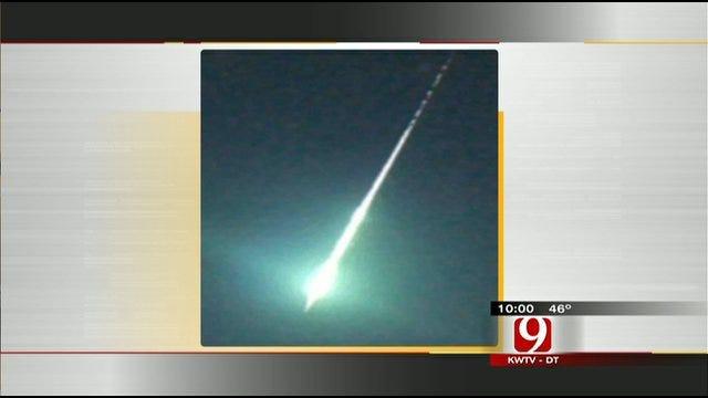 Meteor Dazzles Across Oklahoma