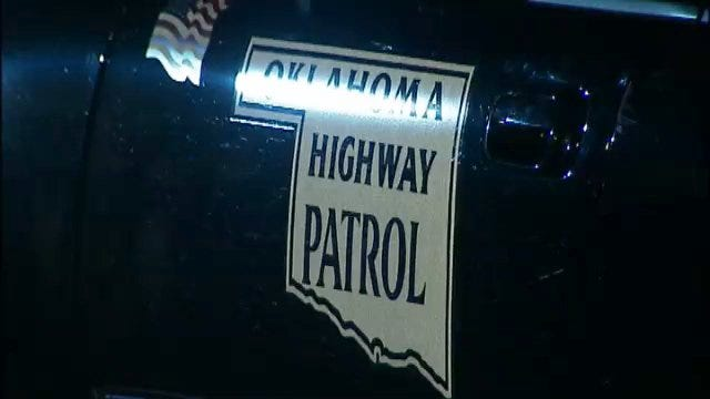 WEB EXTRA: Video From Scene At End Of Oklahoma Highway Patrol Chase