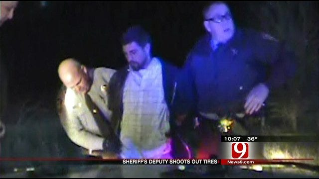 Pursuit Suspects Caught In Canadian County