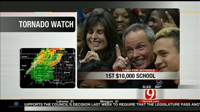 Del City High School Wins Cash For Schools Contest