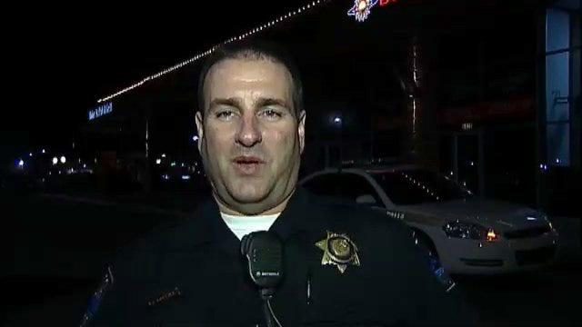 WEB EXTRA: Tulsa Police Officer Todd Collins Talks About Burglary Arrest