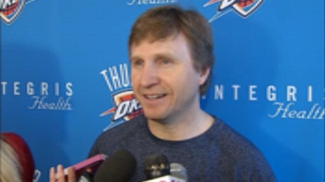 Scott Brooks After Friday's Practice