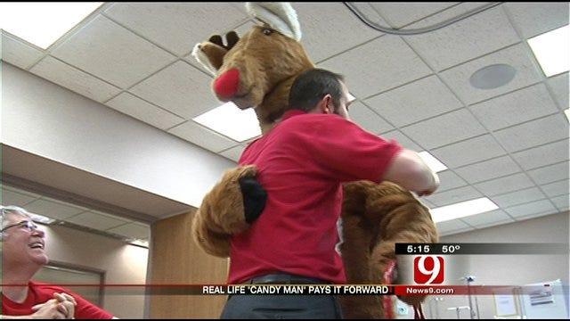 "Stroke Turns Oklahoma City Man Into the ""Candy Man"""