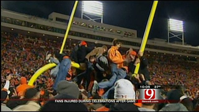 Fans Injured During Celebration After Bedlam Game