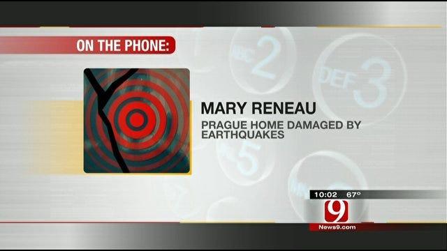 News 9 Talks To Prague Earthquake Victims Monday Night
