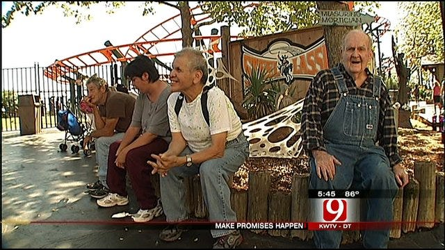 Make Promises Day At Frontier City For Disabled Oklahomans