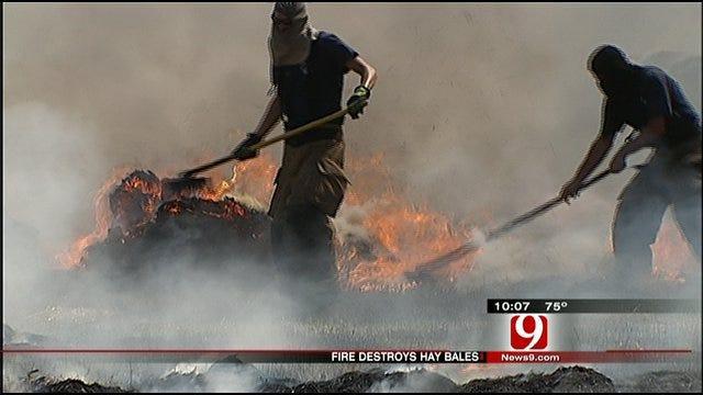 Suspicious Fires Hit Pott County Farmer