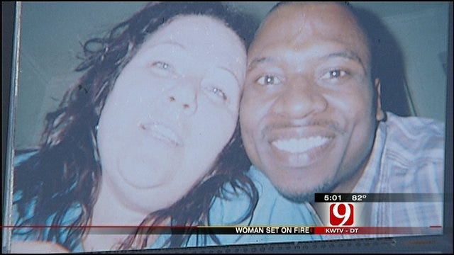 OKC Woman Set On Fire After Fight With Boyfriend