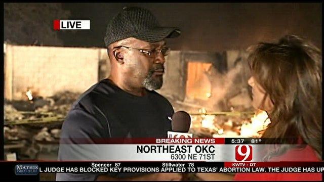Pastor, Congregation Devastated After Wildfire Destroys Church