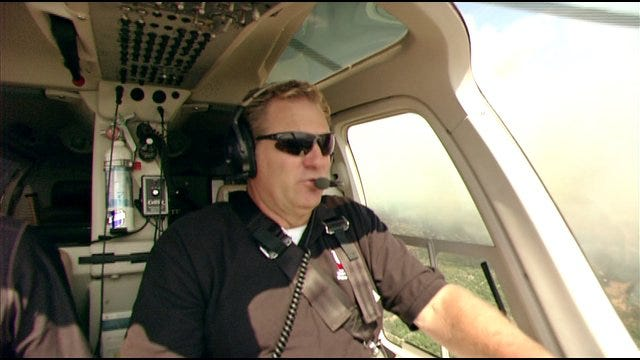 Kelly Ogle Gives Updates On Areas Affected By Large Wildfire