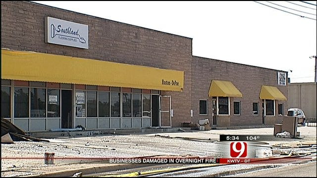 Business Owners Forced To Rebuild After Northwest OKC Fire