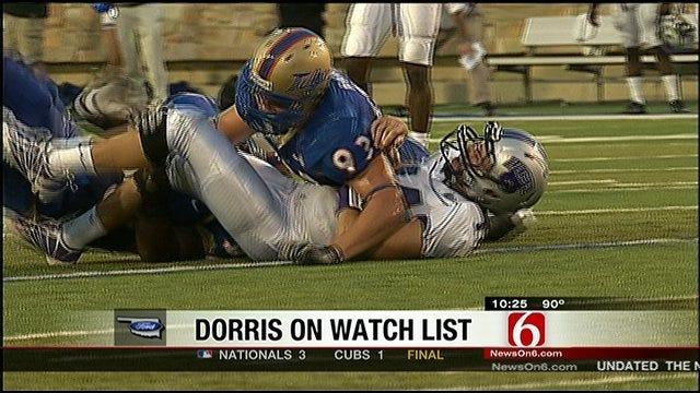 TU's Dorris On Hendricks Award List