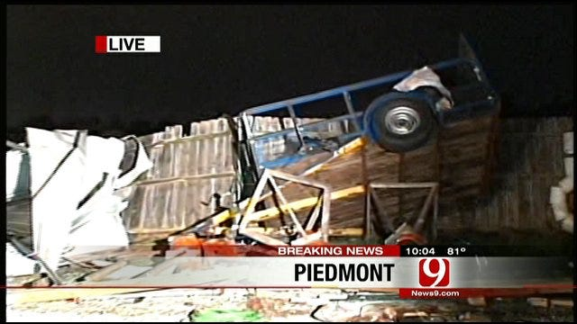 Strong Winds Cause Severe Damages In Piedmont