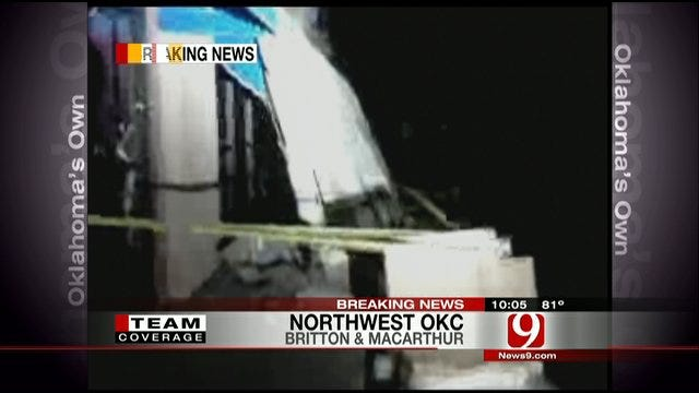 Storm Damage In Metro OKC, 1 Injured