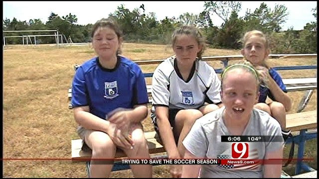 Guthrie Soccer Field Takes Beating In May Tornado