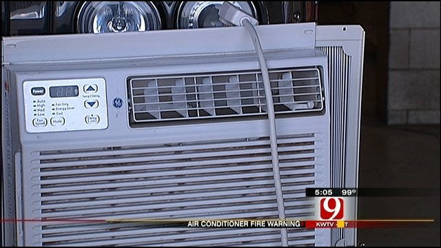 Fire Victim And OKC Fire Department Offer Tips Using A/C Units