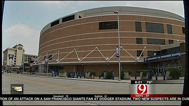 Downtown Arena Named Chesapeake Energy Arena