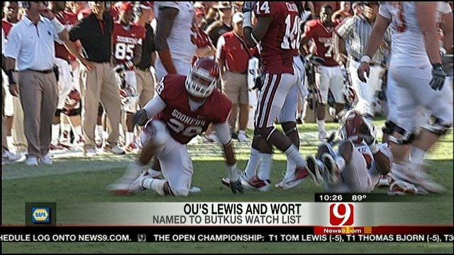 Lewis And Wort On Butkus Watch List