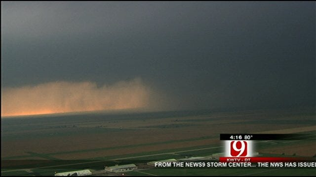 Large Tornado Spotted South Of Calumet