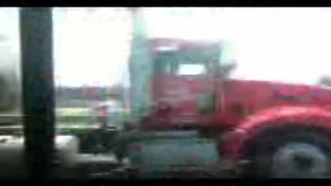 WEB EXTRA: Police Chase Tanker Truck On Highway 169