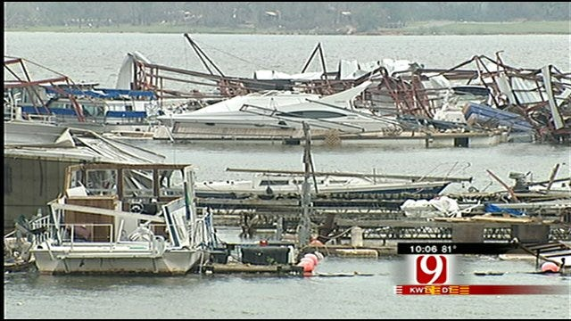 Lake Thunderbird Businesses Recovering After May 10 Tornado