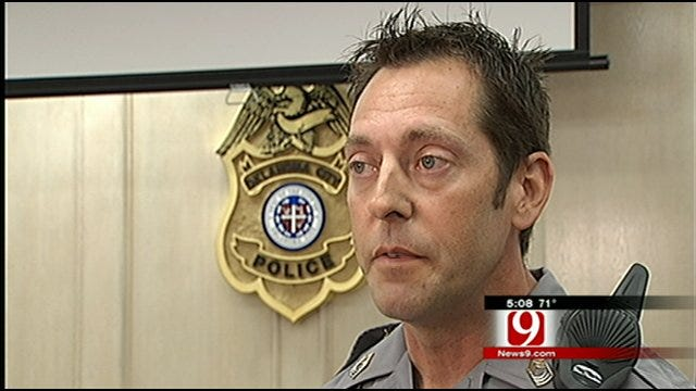 OKC Police Officer Relives Being Shot By Suspect One Year Later