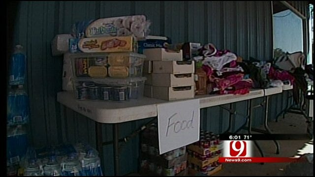 People Donate Items, Time To Help Tushka Residents