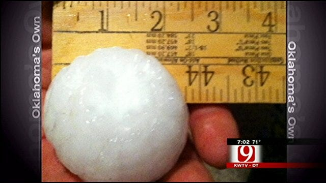 Severe Storms Push Through Kay County