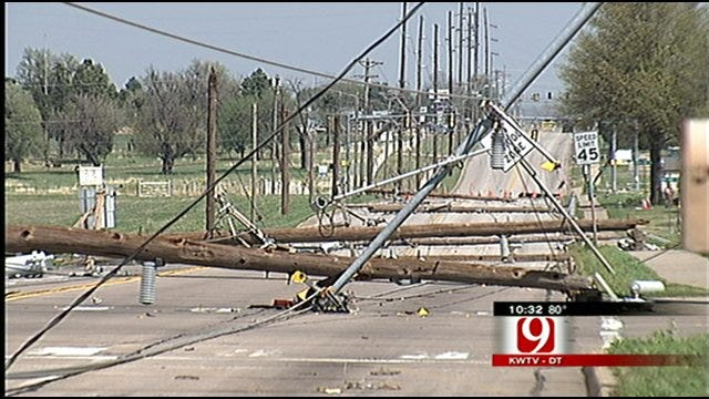 Weekend Storm Causes Wind Damage, Power Outages In Ponca City