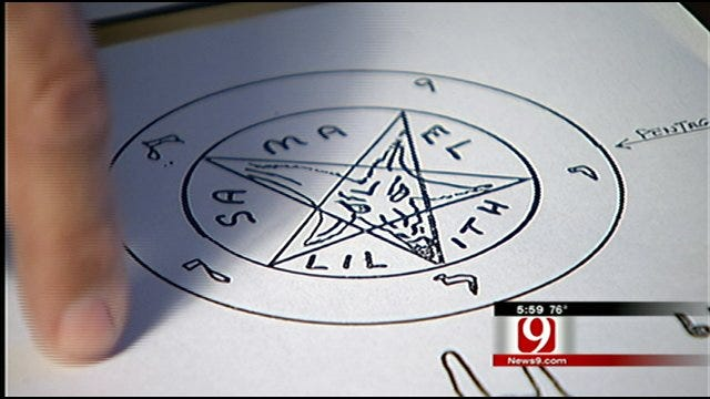Expert Discusses What Demonic Drawing Could Mean In Midwest City Couple's Murder