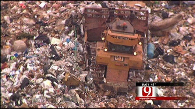 S.E. Oklahoma City Homeowners Raising Stink About City Dump