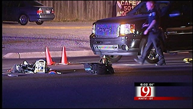 Man Killed Crossing Edmond Street