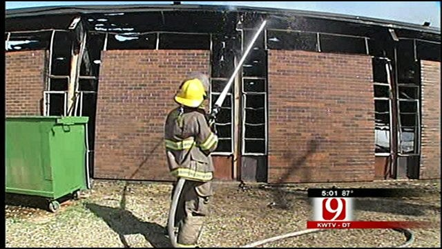 Residents Stunned After Fire Destroys Perry Church
