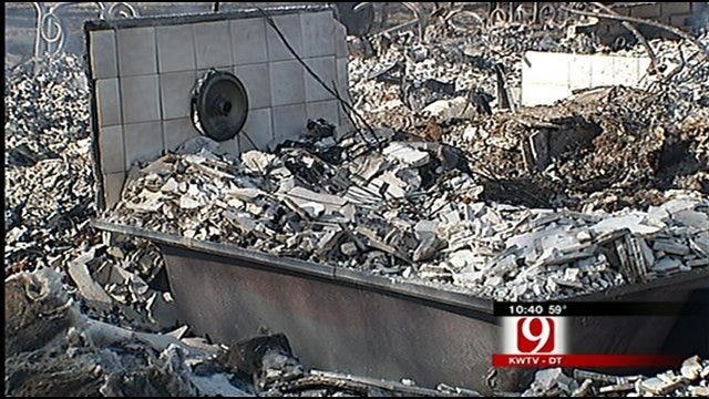 Oklahomans Begin Recovering After Wildfires