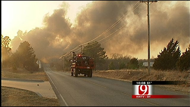 Church Becomes Refuge For Residents Evacuated In Harrah