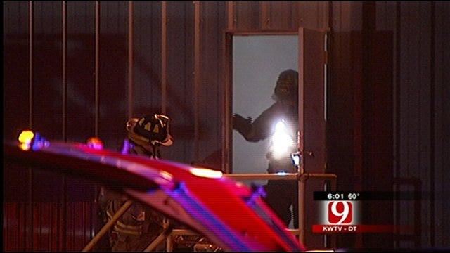 OKC Firefighters Battle Industrial Blaze At RBC Bearings
