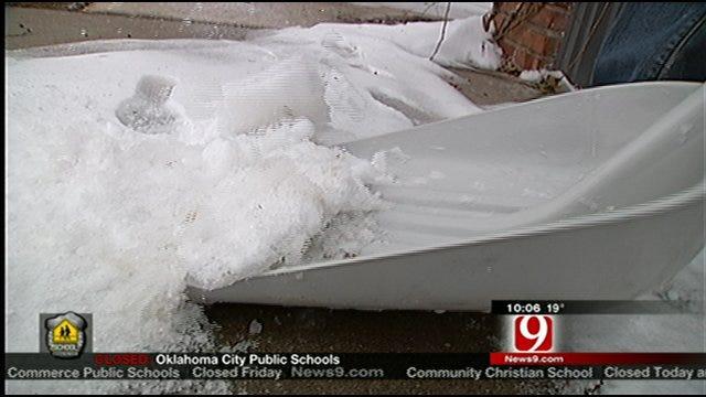 Oklahomans Post Snow Shoveling Ads On Craigslist After Snowstorm