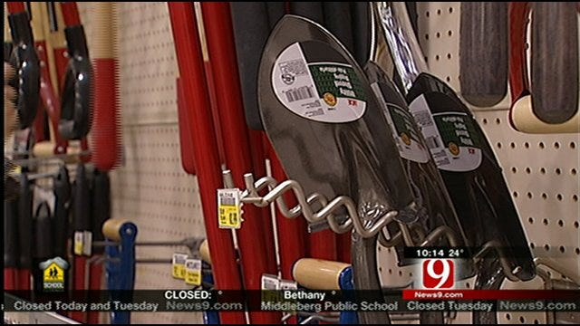 Many Rushing To Stock Up On Winter Weather Supplies