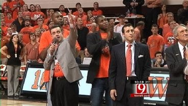 Special Ceremony Held At OSU Men's Basketball Game To Remember The 10