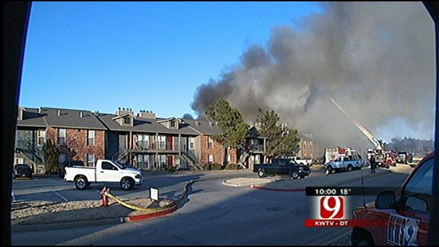 Smoking Material May Have Caused Northwest OKC Apartment Fire