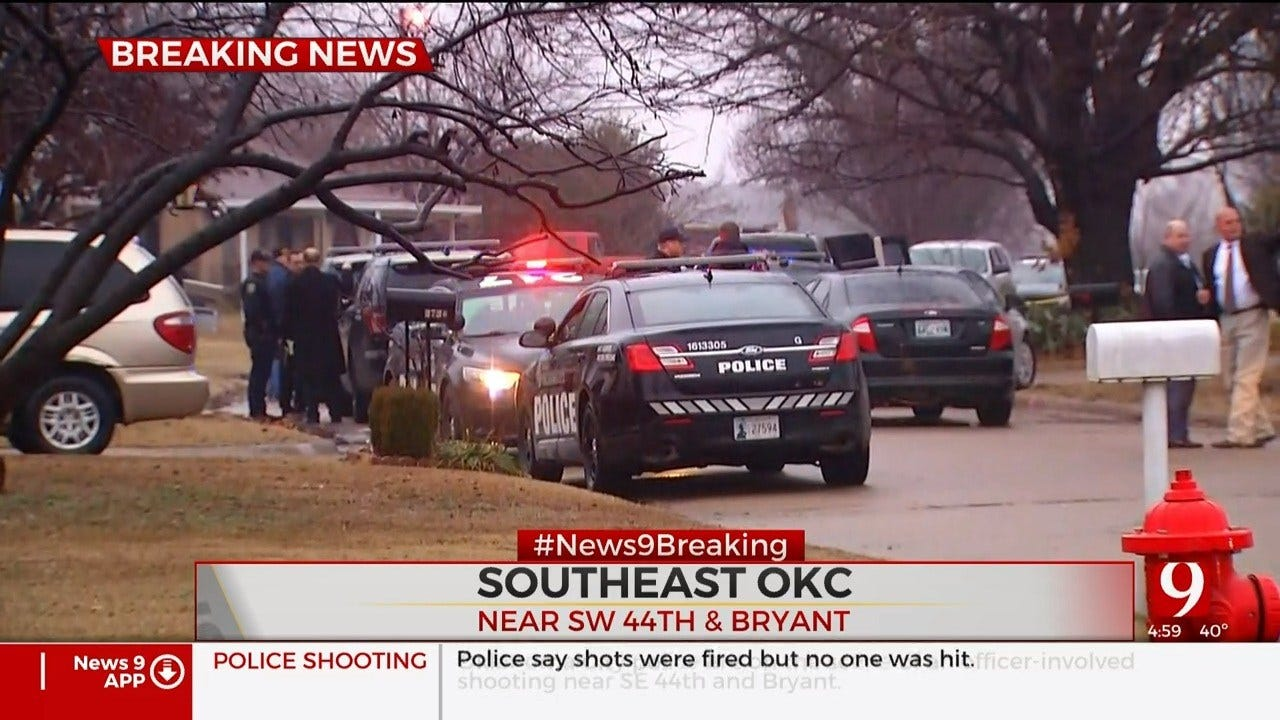 Police Investigate After Officer Fires Shots In SE OKC, No Injuries Reported