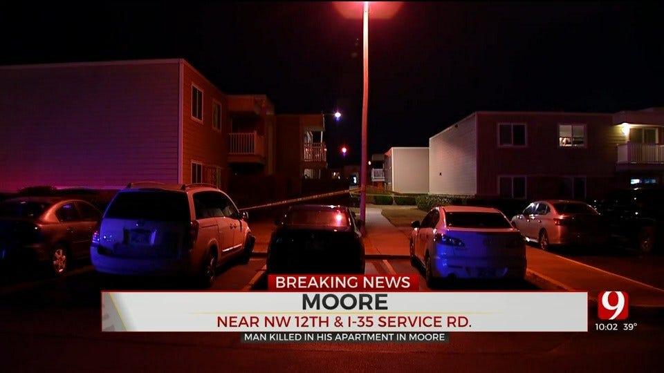 Police Investigate Homicide At Moore Apartment Complex