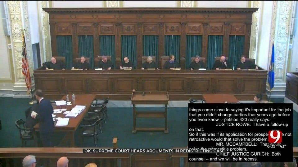 Okla. Supreme Court Hears Anti-Gerrymandering Petition Arguments
