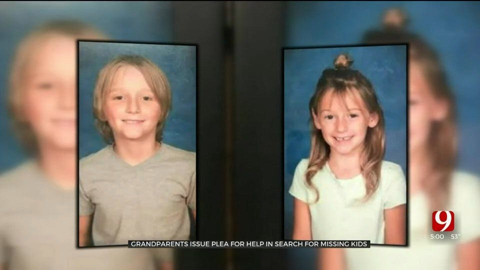 Grandparents Of 2 Missing Kids Out Of Pauls Valley Pleading For Their Safe Return