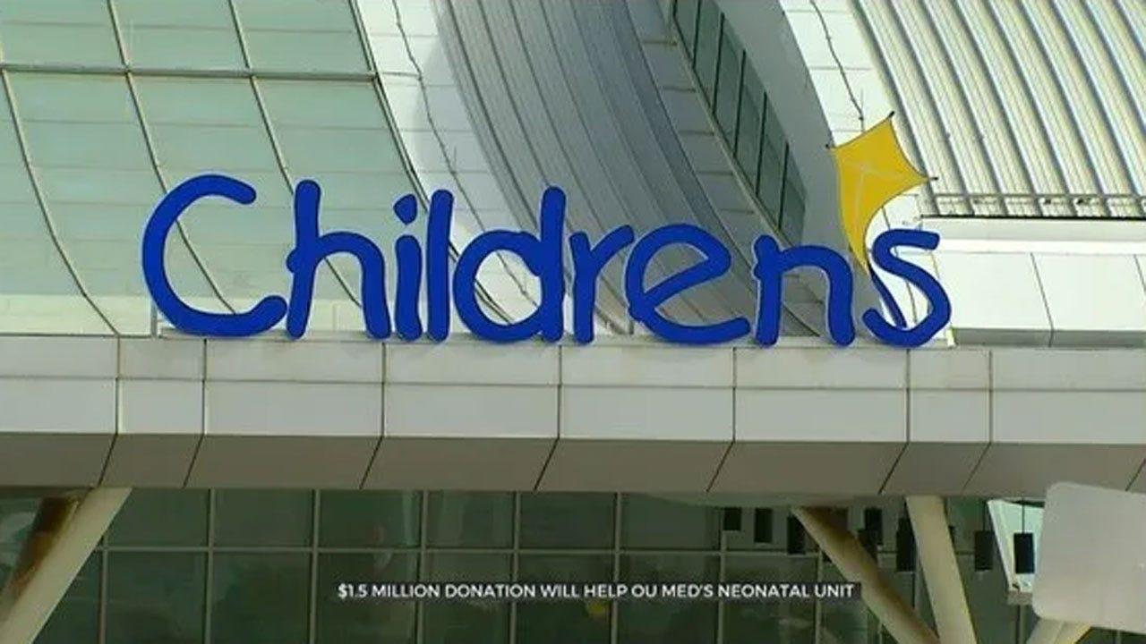 Family Provides $1.5 Million Donation For OU Med's Neonatal Unit