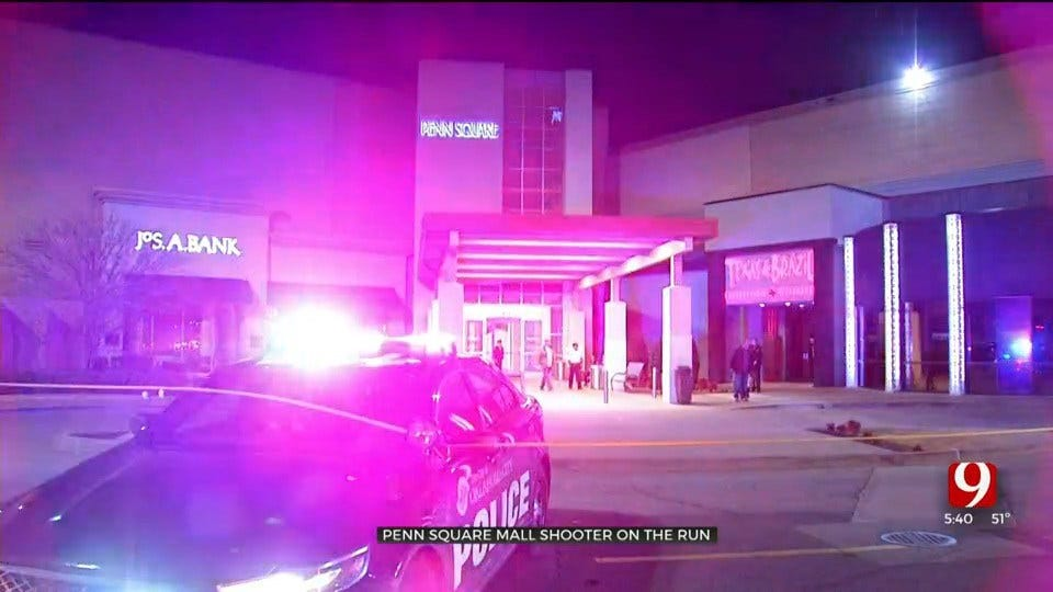 Suspect On-The-Run After Shots Fired At Penn Square Mall